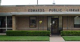Edwards Public Library Logo